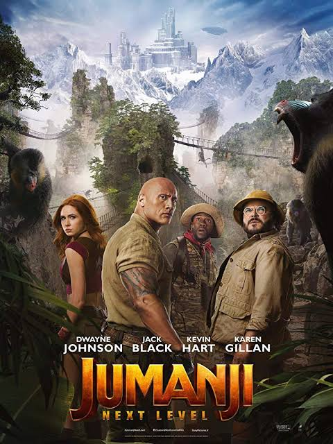 jumanji  รีวิวหนังดังประจำปี